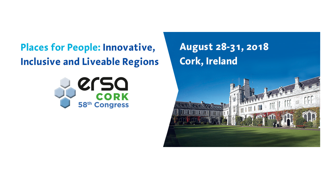 PERCEIVE at the ERSA Congress in Cork: can regional policies enhance European identity?