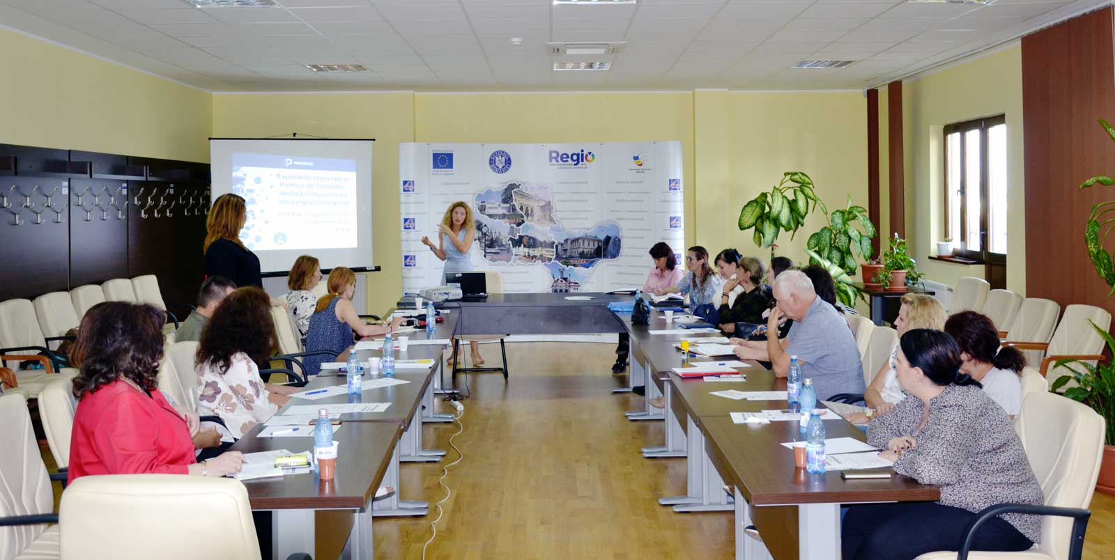 PERCEIVE Workshop in the Romanian Sud Est region: a high awareness of Cohesion Policy and trust in the EU
