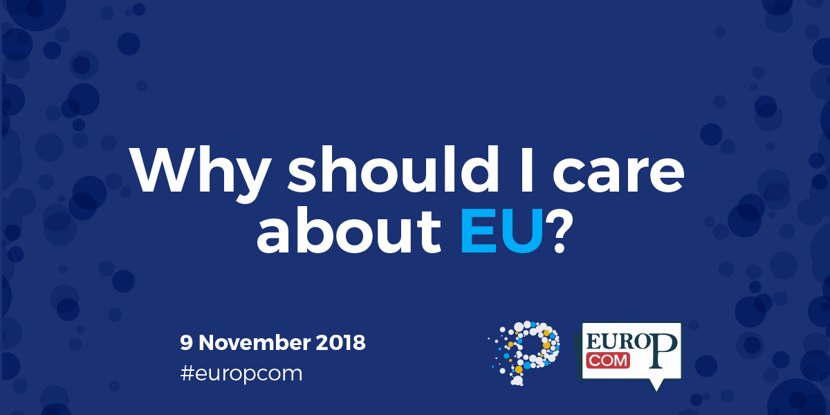 Why should I care about EU? PERCEIVE's Ideas Lab at EuroPCom 2018: a simulation on communication targets and actions
