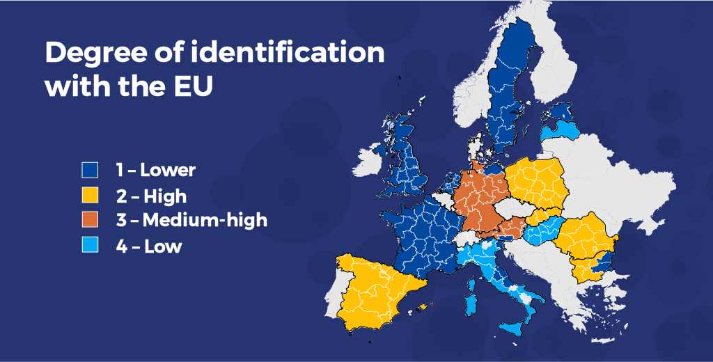 Citizens identification at the regional level: which kind of European lives in your region?