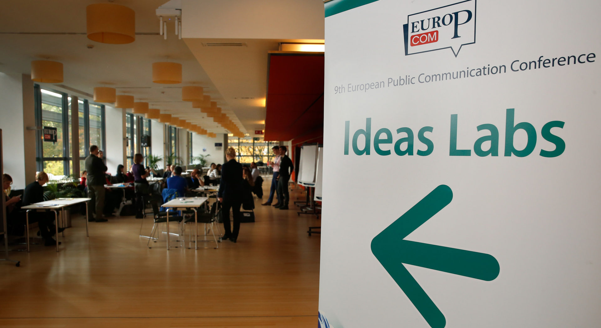 How to communicate EU-funded projects? Lessons from PERCEIVE's Ideas Lab at EuroPCom 2018